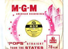78RPM.ZIGGY ELMAN & VIRGINIA MAXEY.THREE LITTLE WORDS / THE ANGELS SING.UK ORIG