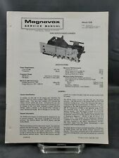 Magnavox Repair Service Parts Manual For 1976 R342 Series Radio Chassis