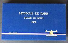 FRANCE - Superbe  Coffret FDC 1974 - Avec Centime rebord - Rare