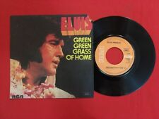 ELVIS PRESLEY GREEN GRASS OF HOME THINKING ABOUT 42550 VG- VINYLE 45T SP