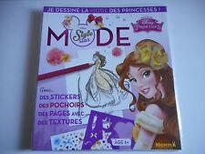 MODE STYLE STAR / JE DESSINE LA MODE DES PRINCESSES - BELLE DISNEY / 6 ANS