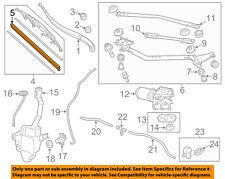 HONDA OEM Odyssey Wiper Washer Windshield Wiper Blade Refill Right  76632TK8A02