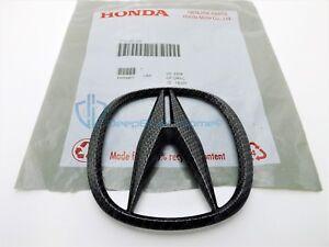 Acura TL 2007-2008 Carbon Fiber Front Grille Emblem Badge OEM Bumper A Logo