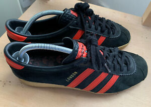 Adidas Trainers London Brussels Size 8.5 UK Size 9 US City Series