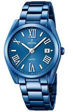 Reloj Festina mujer acero azul F16864/3