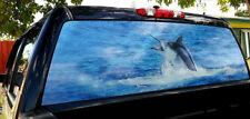 Rear window graphics Marlin
