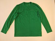 ICEBREAKER MENS  MERINO WOOL CREWS  L'SLEEVE T-SHIRT  BASE LAYER  XL GOOD COND