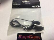 Drift Mic Camera Microphone HD170 Stealth 720 Windscreen External Audio DIN PLUG