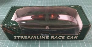 Schylling Streamline Race Car Sparking Action #6 British Flag Racing Green NEW