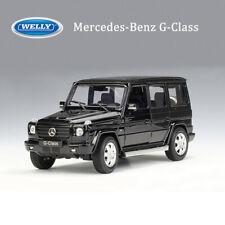 Mercedes-benz G-Klasse g63 AMG 6x6 blanco 1//24 Welly modelo coche con o sin en