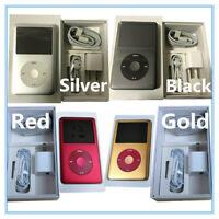 🔥Apple iPod Classic 6th 7th Gen Silver/Black/Gold/Red (80GB/120GB/160GB/256GB)