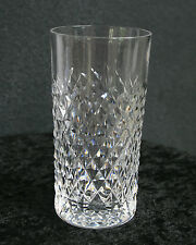 """SIGNED Waterford Crystal Alana Highball 5 5/8"""" 12 oz - 5 Available"""