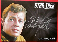 STAR TREK TOS 50th ANTHONY CALL as Dave Bailey LIMITED EDITION SILVER Autograph