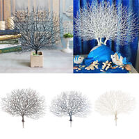 Artificial Simulation Plastic Coral Tree Branch for Home Garden Decoration