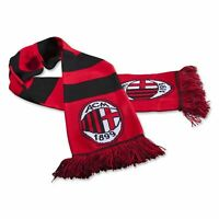 AC MILAN - WOOLEN SCARF - OFFICIAL LICENSED NEW