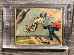 1940 Superman Gum Inc. #48 Death in the Air