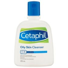 CETAPHIL OILY SKIN CLEANSER 235ML FACE BODY FOR OILY COMBINATION SKIN SOAP FREE
