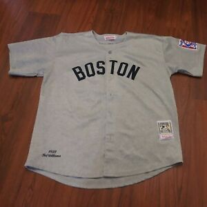 Mitchell Ness Boston Red Sox #9 Ted Williams Jersey Cooperstown Collection 54/XL