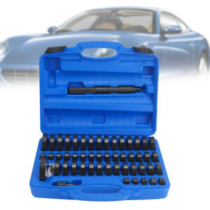 51 tlg Radlager Montagescheiben Druckstück Press Werkzeug Treibsatz 18-65 mm
