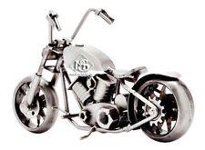 Hinz&Kunst Design,Motorrad BOBBER-Bike,Schraubenkollektion,handmade,aus Stahl