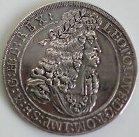 Austria 1694 Silver Taler (Thaler) Leopold Dav-3245