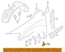 NISSAN OEM 09-14 Murano Front Fender-Lower Molding Trim Panel Right 638721AA0A