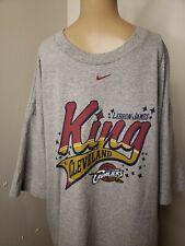 Nike Team Men's T Shirt Size XL Lebron James King Cleveland Cavaliers NBA