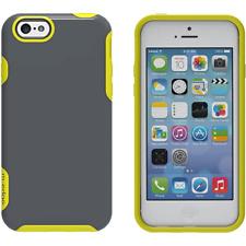 M-Edge Echo Series Hybrid Hard Case for iPhone 6s Plus 6 Plus - Gray/Neon Green