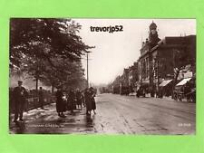 Turnham Green W Nr Chiswick RP pc used 1933 C Degen Ref B13