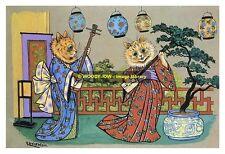 rp10197 - Louis Wain Cats - Japan - photograph 6x4