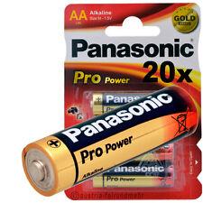 20x PANASONIC PRO POWER MIGNON AA LR6 MN1500 Alkaline Batterie