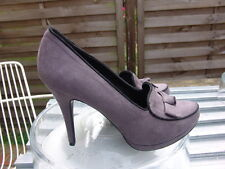 Graceland GoGo Plateau Schuhe Boots Pumps Slippers Espadrilles Taupe 41 neuwerti