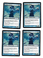 4x Vedalken Infuser VG/EX Mirrodin Besieged Commander Mtg Magic 4x x4