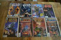 Star Wars #1 2 5 7 Tales of the Jedi (Dark Horse Comics) Lot of 8