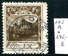 Liechtenstein 1930 105a con sello 450 € (s0607