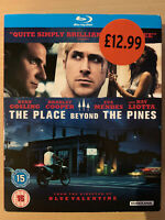 Place Beyond the Pines Blu-ray 2012 Cult Film with Ryan Gosling w/ slipcover