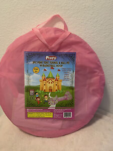 Princess Fairy Tale Castle Play Tent, Crawl Tunnel & Ball Pit