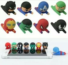 Avenger hero Bite USB Charger Cable Cord Protector For iPhone IOS Samsung Huawei