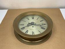 Chelsea Ships' Clock 12� Rare-Bronze-No Strike 1913
