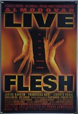 LIVE FLESH DS ROLLED ORIG 1SH MOVIE POSTER PEDRO ALMODOVAR JAVIER BARDEM (1997)