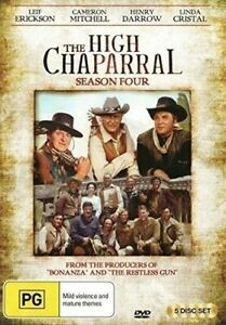 THE HIGH CHAPARRAL: SEASON FOUR - (5 DVD) BRAND NEW!!! SEALED!!!