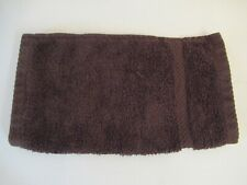 Brown face cloth, wash cloth flannel