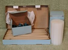 """Vtg Partylite Iced Snowberries Pillar Candle, Woodland Spice Votives, 10"""" Tapers"""