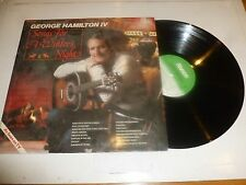 GEORGE HAMILTON IV - Songs for a Winter Night - 1982 UK 16-track LP