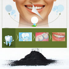 Black Organic Activated Charcoal Powder Teeth Whitening Dental Care Toothpaste