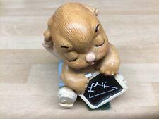 "Pendelfin Studios ""Euclid"" Figurine Ornament hand painted Sone craft 7cm Rabbit"