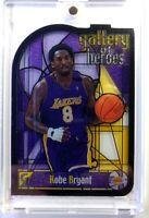 1999-00 Topps Gallery Of Heroes Kobe Bryant #GH3, Insert, Los Angeles Lakers