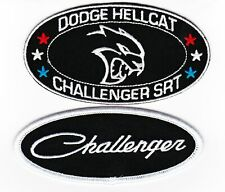 DODGE CHALLENGER SRT HEMI HELLCAT SEW/IRON ON PATCH EMBROIDERED BADGE MOPAR