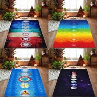 Rainbow Beach Mat Mandala Blanket Wall Hanging Tapestry Yoga Scarf Healthy