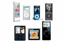 Apple iPod Nano 1st 2nd 3rd 4th 5th 6th 7th - 1GB 2GB 4GB 8GB 16GB - All Colours